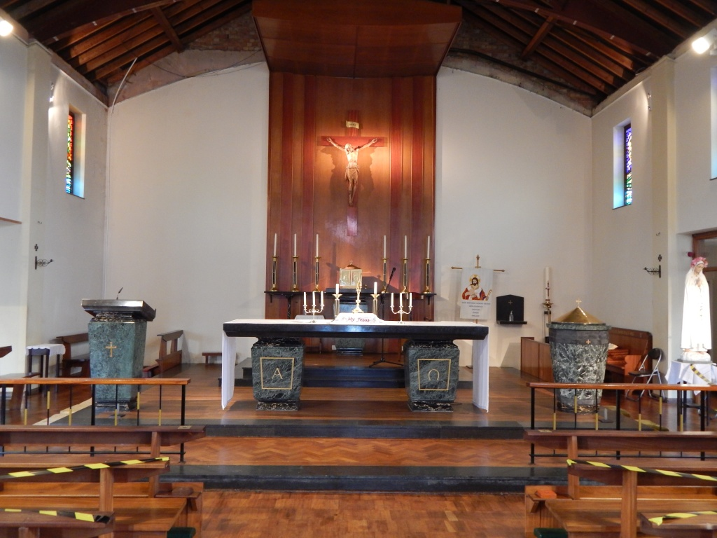 Nave of Church opened for Individual Prayer